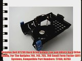 Genuine Dell NY290 Hard Drive Blower Fan and NH645 Hard Drive Caddy For The Optiplex 740 745