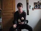 Jonglage 3 balles/figures