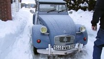 2CV Cold Start with New 123 Ignition