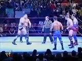 The Rock & Chris Jericho vs William Regal, Kurt Angle & Chris Benoit WWF RAW 3/19/01