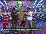 Combate: Alejandra Baigorria criticó la ausencia de Mario Hart