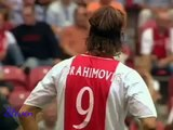 Zlatan Ibrahimovic goal Ajax skill