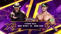 WWE 2K15- John Cena vs Bray Wyatt at Wrestlemania 30 (PS4)