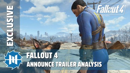 Fallout 4 - Announce Trailer Analysis