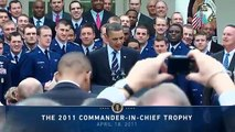 The 2011 Commander-in-Chief Trophy Presentation
