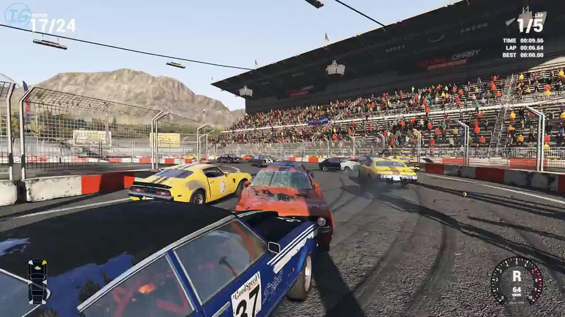 Next Car Game Wreckfest - Corrida em 8 Insana!!! Tá pegando FOGO bixo!!!