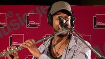 Improvisation à la flûte traversière par Magic Malik | Le Live de La matinale