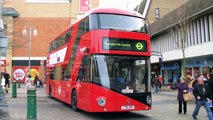 New ROUTEMASTER NB4L Hybrid Prototype - BORIS BUS visits BEXLEYHEATH, Greater London, Kent TfL Tour