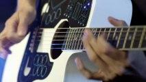 Tout faire avec une guitare : batterie, keyboard... la première guitare MIDI avec un controleur sans fil