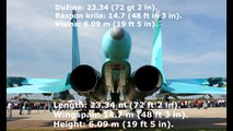 Russian fighter-bomber Su-34/Ruski lovac-taktički bombrader Su-34