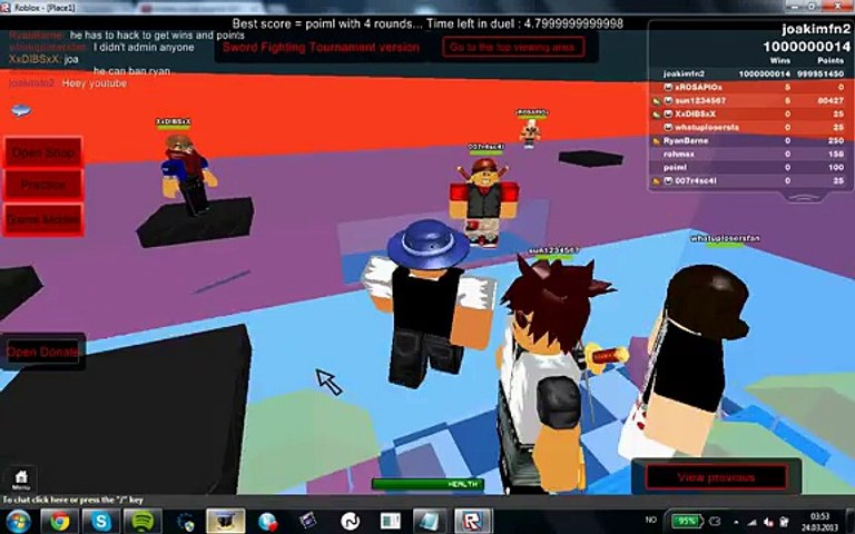 How To Hack Admin On Roblox 2013 Video Dailymotion
