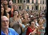 Francesco Totti e Ilary Blasi Sposi - Uscita dalla chiesa