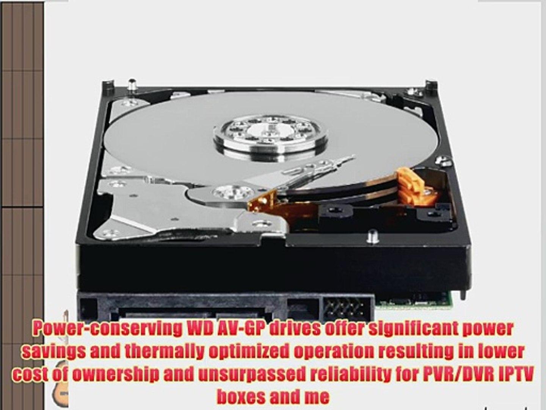 "Western Digital WD5000AVDS 500GB 32MB Cache 3.5/"" SATA2 Hard Drive For AV /& DVR"