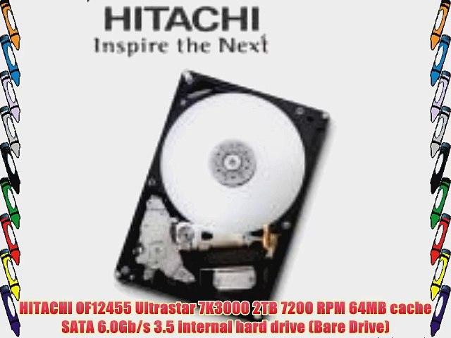 """Hitachi Ultrastar HUA723020ALA641 2TB 64MB 7200RPM 3.5/"""" SATA6.0Gb//s Hard Drive"""