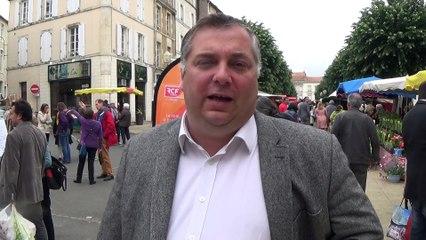 Laurent Piha, président du club des entreprises de Fontenay-le-Comte et Sud Vendée
