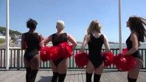 Les pom-pom girls de Fanny Dance soutiennent #lehavre2024
