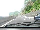 Route du littoral de la Possession à Saint-Denis - Ile de la Réunion
