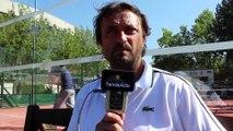 Tennis - Henri Leconte au soutien de la fondation Hope and Spirit