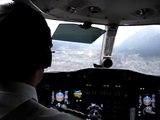Cessna Citation Innsbruck approach & landing