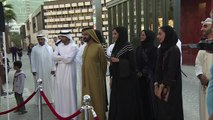 3D Art Festival :  Sheikh Mohammed bin Rashid & Sheikh Hamdan Bin Mohammed visit