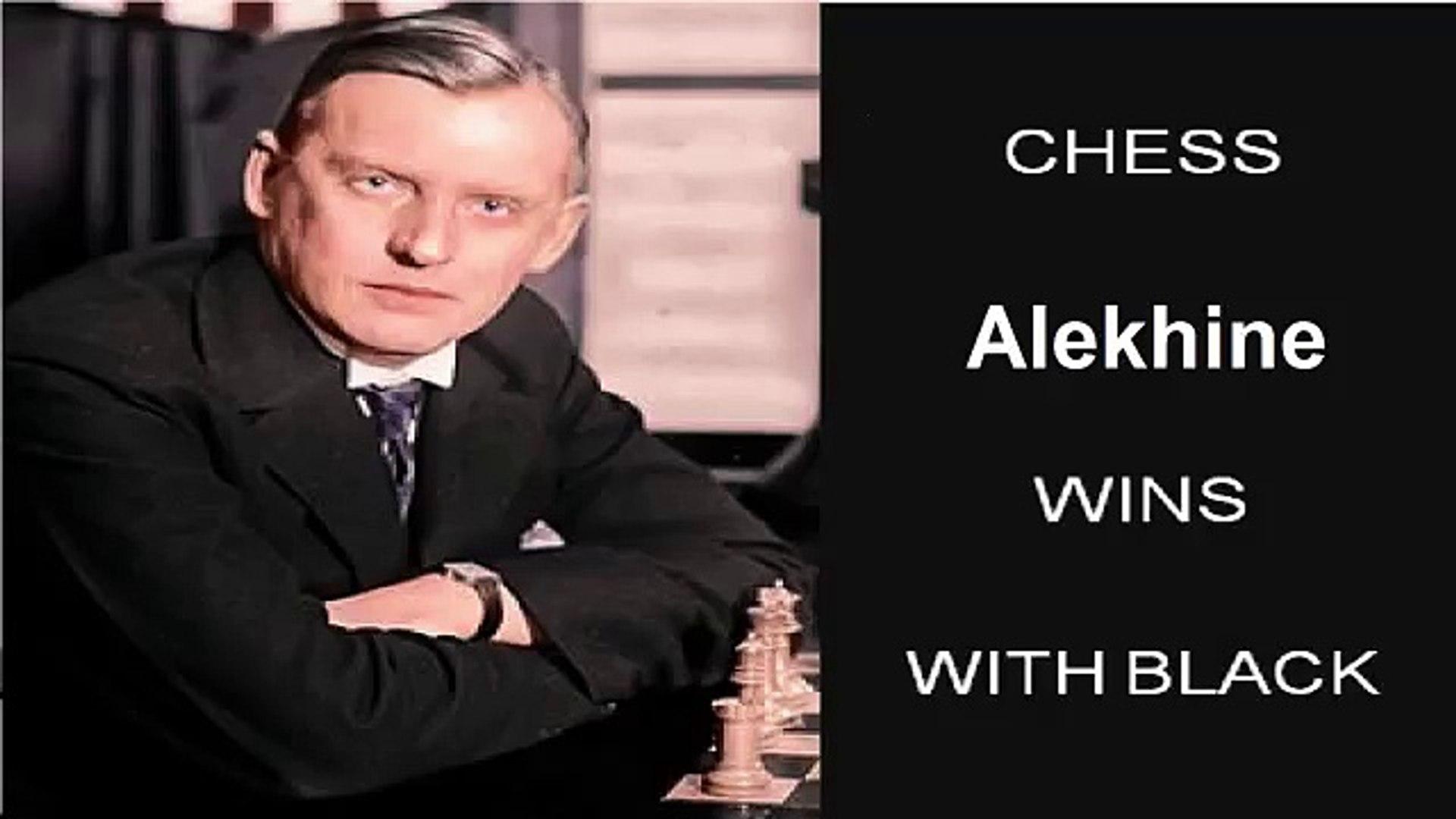 Capablanca vs Alekhine (0-1) 1927 World Championship Chess 13th match 21 SD