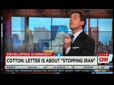 Senator Tom Cotton On The Text Signed By 47 Republican Senators To IRAN ~ CNN