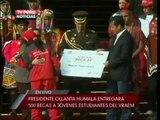 Presidente entrega 500 becas a jóvenes estudiantes del VRAEM - 1