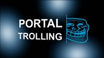 Portal Trolling - Steve vs GLaDOS