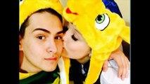 Aos 13 anos, Larissa Manoela comemora nove meses de namoro com Matheus Chequer