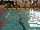 Sylvie 200m Brasse Départ Chpts France
