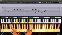 Ibrahim Maalouf - True Sorry (Piano cover/tutorial with live visuals & sheet music)