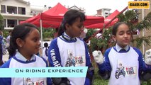 RUN FLAT TYRES|READING A TYRE and KIDS RIDING CHALLENGE- TURBO 5, GAADI.COM