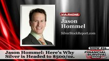 Why Silver is Headed to $500/oz - plus, Backwardation Explained by Jason Hommel