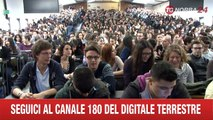 MILANO CHECCO ZALONE INCONTRA STUDENTI DELL'UNIVERSITA' CATTOLICA