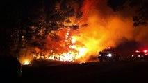 DeKalb, TX Forrest Fire 10.07.11