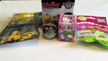 Blind Surprises: Avengers, Hello Kitty Frenzies, Lalaloopsey Tinies, Minions and Crashlings