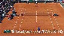 Serena Williams vs Timea Bacsinszky - Full Highlights |Tennis | Roland Garros 2015