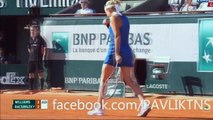 Serena Williams vs Timea Bacsinszky Full Highlights HD - French Open 2015 - Roland Garros 2015