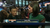 Alibaba's Jack Ma (馬 雲) : We are here to help small business, not compete.