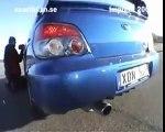 Subaru impreza WRX sti prodrive style (2007) powersliding
