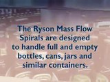Mass Flow Vertical Spiral Conveyor System | Ryson Spiral Conveyors