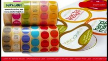 Label manufacturers Mumbai, Sticker manufacturers, Duralabel graphic, Self Adhesive Labels india, Thermal Transfer Ribbo