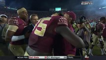 Jimbo Fisher BEGS Jameis Winston to be Humble After FSU Beats Notre Dame