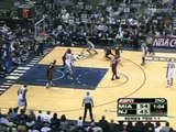 Vince Carter dunks over Alonzo
