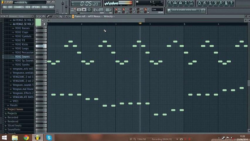 54 Progressive House / EDM melodies (FL Studio)