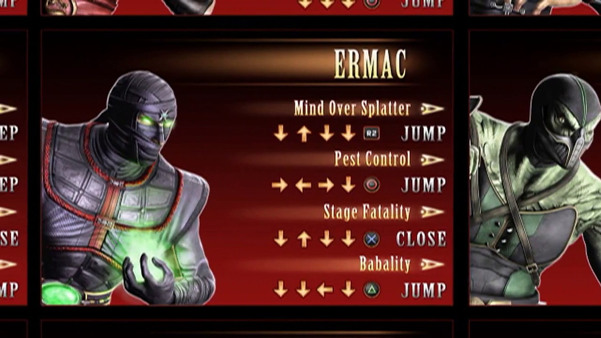Mortal Kombat 2011 Finishing Moves List Ps3 Video Dailymotion