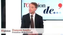 François Asselin (CGPME) sur la gauchisation du discours de François Hollande : « On berce d'illusions beaucoup de Français »