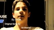 Lego House - Ed Sheeran (cover by Paul Silve)