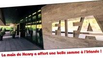 Sepp Blatter avait payé l'Irlande pour qu'elle se taise après la main de Henry !