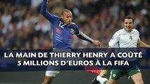 La main de Thierry Henry a coûté 5 millions d'euros à la FIFA